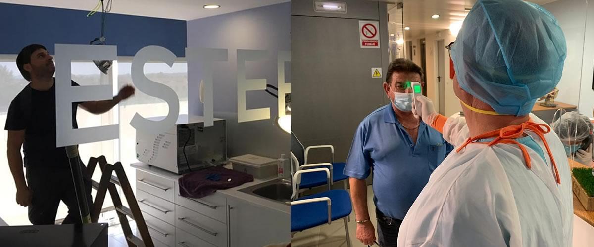 Centre Dental Cise - Segell Stop Covid 19